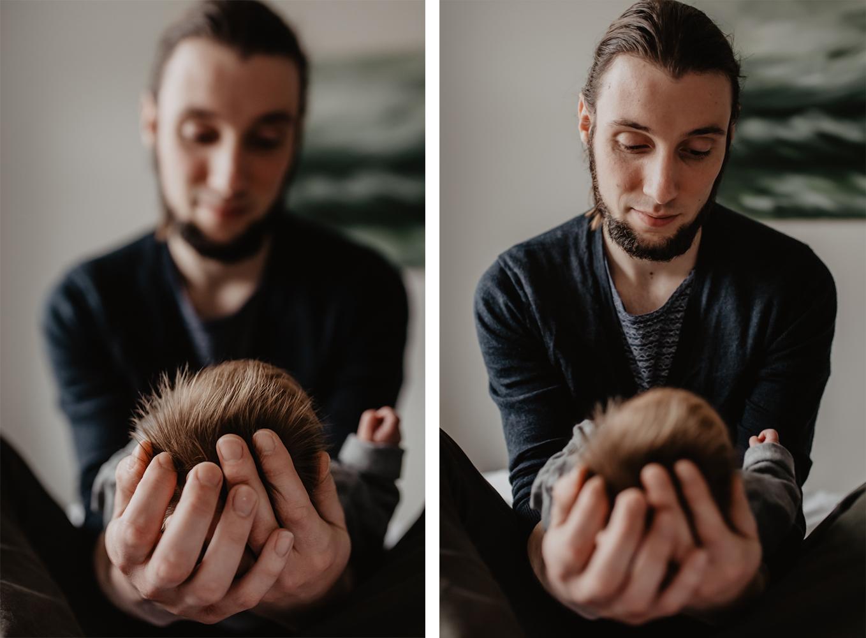 Newborn lifestyle shoot in Noord-Brabant